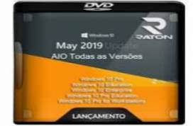 Windows 10 AIO 1903 64 BITS MAIO 2019