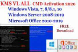 Activator CMD Windows 10 1809 and Office 2019